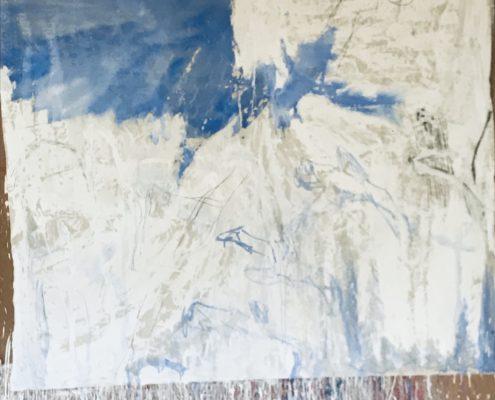 02 in transit - Sigrid Glöerfelt Sigrid Gloerfelt - Mixed Media on Canvas - 220x200 - UNTITLED 1 - 2019