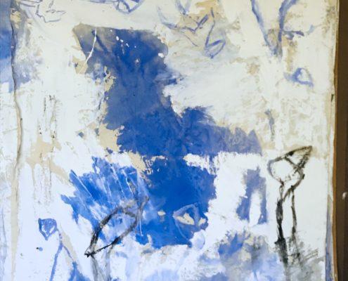 03 in transit - Sigrid Glöerfelt Sigrid Gloerfelt - Mixed Media on Canvas - 300x220 - UNTITLED 2 - 2019